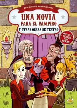 Papel Una Novia Para El Vampiro Y Otras Obras De Teatro
