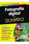 Papel FOTOGRAFIA DIGITAL PARA DUMMIES