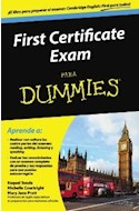 Papel FIRST CERTIFICATE EXAM PARA DUMMIES (RUSTICO)