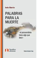 Papel PALABRAS PARA LA MUERTE