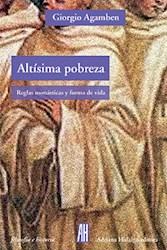 Libro Altisima Pobreza