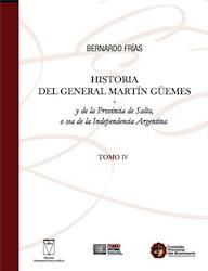 Libro Historia Iv Del General Marin Guemes