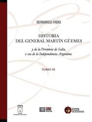 Libro Historia (Vi) Del General Martin Guemes