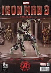 Papel Iron Man Marvel 3