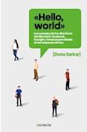 Papel HELLO WORLD (RUSTICA)