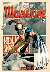 Papel Wolverine Salvaje Marvel Now! Parte 2