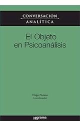 Papel CONVERSACION ANALITICA XI EL OBJETO EN PSICOANALISIS