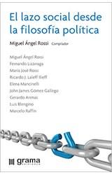 Papel EL LAZO SOCIAL DESDE LA FILOSOFIA POLITICA