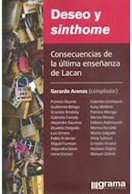 Papel DESEO Y SINTHOME CONSECUENCIAS DE LA ULTIMA ENSEÑANZA DE LAC