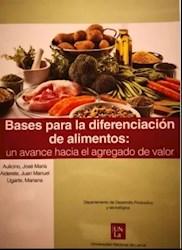 Libro Bases Para La Diferenciacion De Alimentos