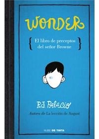 Papel Wonder- El Libro De Preceptos Del Señor Browne