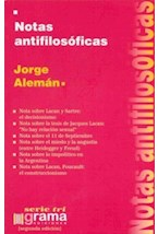 Papel NOTAS ANTIFILOSOFICAS