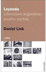 Papel LEYENDA LITERATURA ARGENTINA: CUATRO CORTES