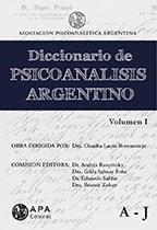 Libro Diccionario De Psicoanalisis Argentino