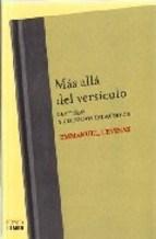 Papel MAS ALLA DEL VERSICULO (LECTURAS Y DISCURSOS TALMUDICOS)