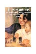 Papel EL PSICOANALISIS EN LA CLINICA DE NIÑOS PEQUEÑOS