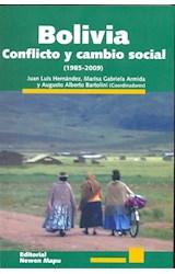 Papel BOLIVIA CONFLICTO Y CAMBIO SOCIAL