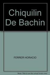 Libro Chiquilin De Bachin