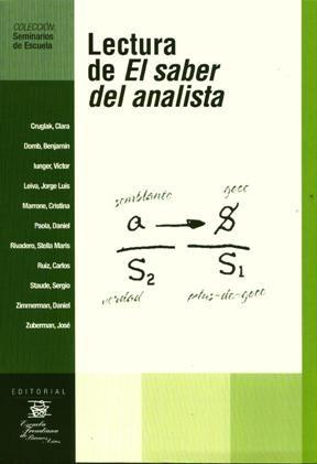 Papel Lectura De El Saber Del Analista