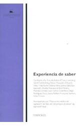 Papel EXPERIENCIA DE SABER