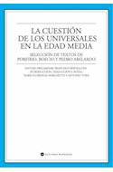 Papel CUESTION DE LOS UNIVERSALES EN LA EDAD MEDIA