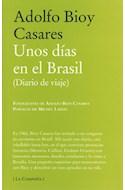 Papel UNOS DIAS EN EL BRASIL DIARIO DE VIAJE (RUSTICA)