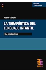 Papel LA TERAPEUTICA DEL LENGUAJE INFANTIL