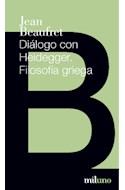 Papel DIALOGO CON HEIDEGGER FILOSOFIA GRIEGA (BOLSILLO)