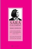Papel MACANEOS LAS COLUMNAS DE CONFIRMADO (1967 - 1972)