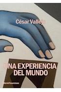 Papel UNA EXPERIENCIA DEL MUNDO (COLECCION ENSAYOS)