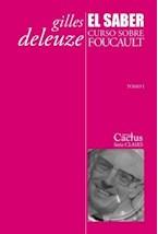 Papel SABER, EL. CURSO SOBRE FOUCAULT