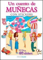Papel Cuento De Muñecas, Un Con Stickers