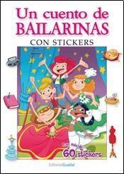 Papel Cuento De Bailarinas, Un Con Stickers