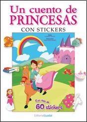 Papel Cuento De Princesas, Un Con Stickers