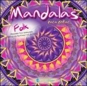 Papel Mandalas Para Pintar Folk