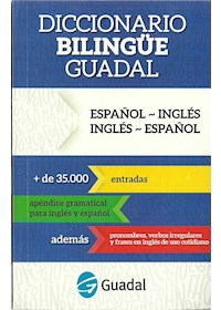 Papel Diccionario Bilingüe Español/ Inglés - Inglés/Español (Guadal)