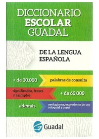 Papel Diccionario Escolar Guadal 2016 De La Lengua Española