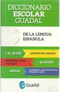 Papel DICCIONARIO GUADAL ESCOLAR DE LA LENGUA ESPAÑOLA