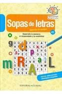 Papel SOPA DE LETRAS 1 EJERCITA TU CEREBRO (COLECCION NEURONAS EN ACCION) (RUSTICA)