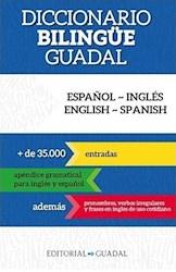 Libro Diccionario Bilingue Guadal ( Español-Ingles / Ingles-Español )