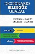 Papel DICCIONARIO BILINGÜE GUADAL ESPAÑOL-INGLES ENGLISH-SPANISH [+35000 ENTRADAS] (BOLSILLO)