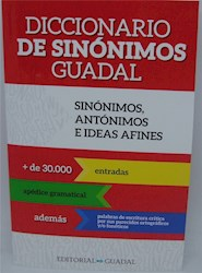 Libro Diccionario De Sinonimos Guadal