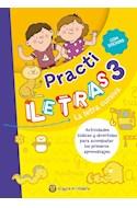 Papel PRACTI LETRAS 3 LA LETRA CURSIVA [CON STICKERS]