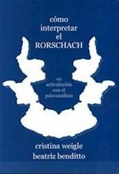 Libro Como Interpretar El Rorschach