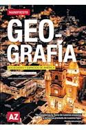 Papel GEOGRAFIA SOCIEDADES Y ESPACIOS DE AMERICA A Z MANIFIESTO [PBA 2° ES / NAP 2°ES] (NOVEDAD 2020)