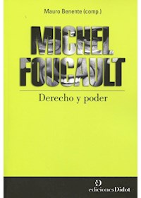 Papel Michel Foucault Derecho Y Poder