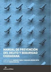 Papel Manual De Prevención Del Delito Y Seguridad Ciudadana