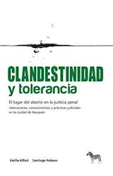 Papel CLANDESTINIDAD Y TOLERANCIA