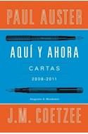 Papel AQUI Y AHORA CARTAS 2008-2011 (RUSTICA)