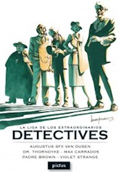Papel Liga De Los Extraordinarios Detectives, La